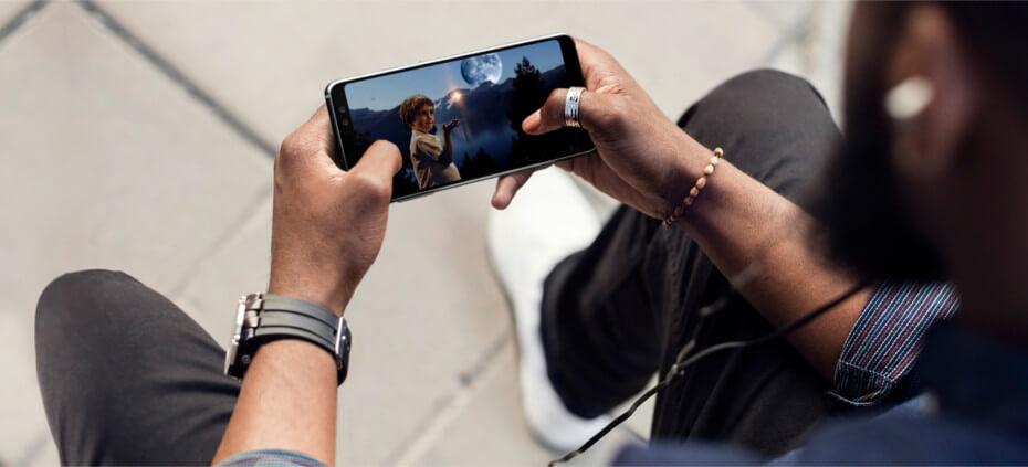 Pantalla Samsung Galaxy A8 2018