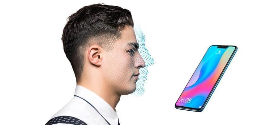 Huawei Nova 3 reconocimiento facial