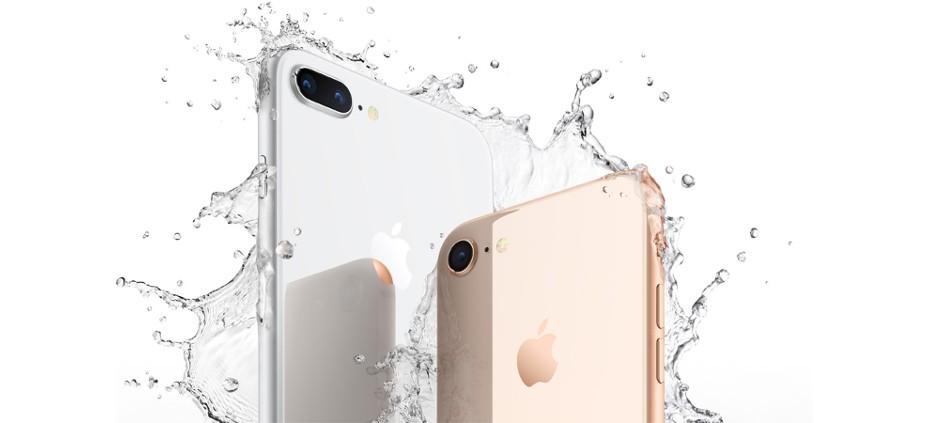 Apple iPhone 8 sumergible