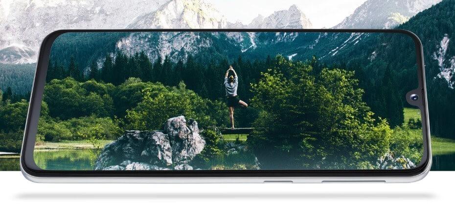 Samsung Galaxy A40 pantalla