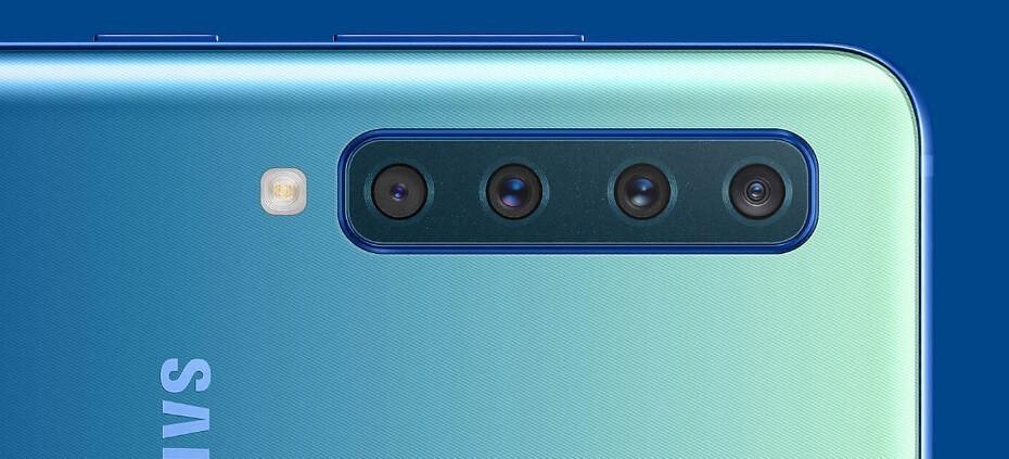 Samsung Galaxy A9 2018 cámaras